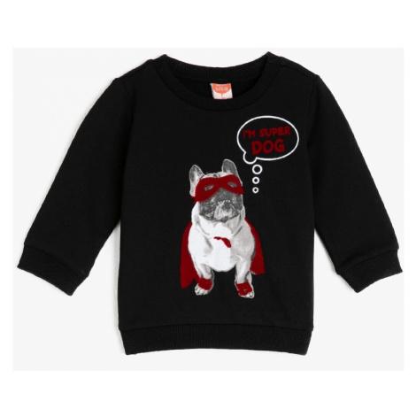 Koton Black Baby Boy Sweatshirt