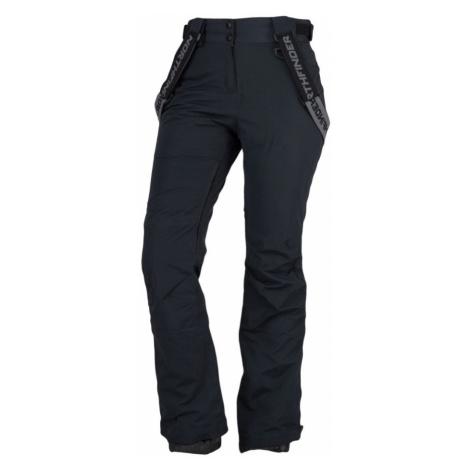 NORTHFINDER ELLIANA Dámské lyžařské kalhoty NO-4462SNW269 černá