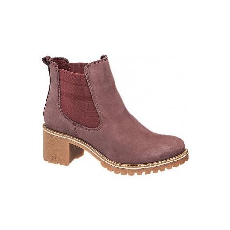Kožená obuv chelsea 5th Avenue