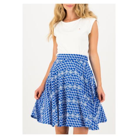 Kolová letní sukně modrá Blutsgeschwister