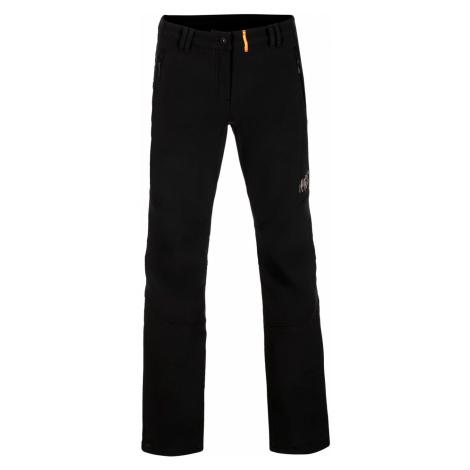 ALPINE PRO MURIA 3 INS. Dámské softshellové kalhoty zateplené LPAP340990 černá