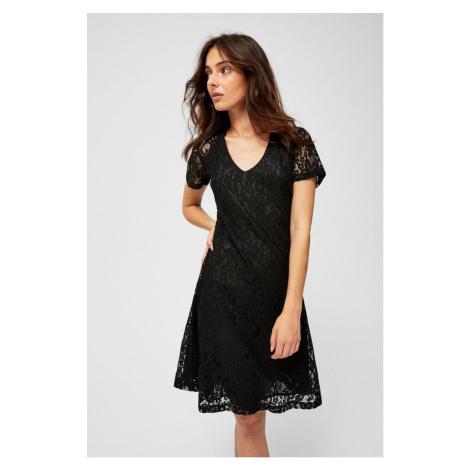 Moodo šaty dámské krajkové s krátkým rukávem