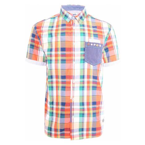 Desigual barevná károvaná košile s krátkým rukávem