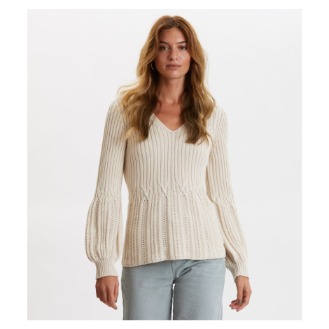 Svetr Odd Molly I Speak Heart Sweater - Hnědá