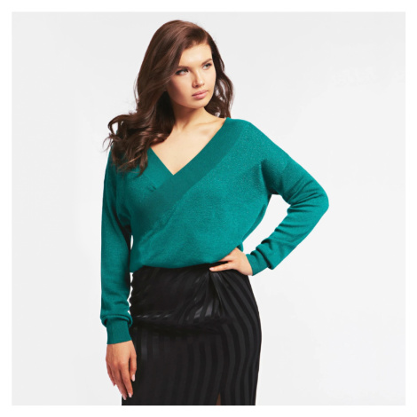 Guess dámský zelený svetr
