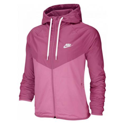 Nike NSW WR JKT růžová - Dámská bunda