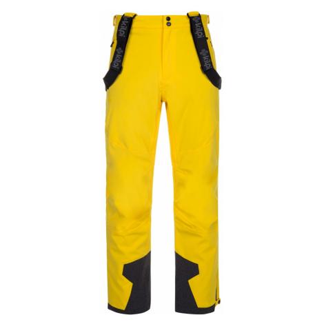 Pánské zimní lyžařské kalhoty KILPI REDDY-M žlutá