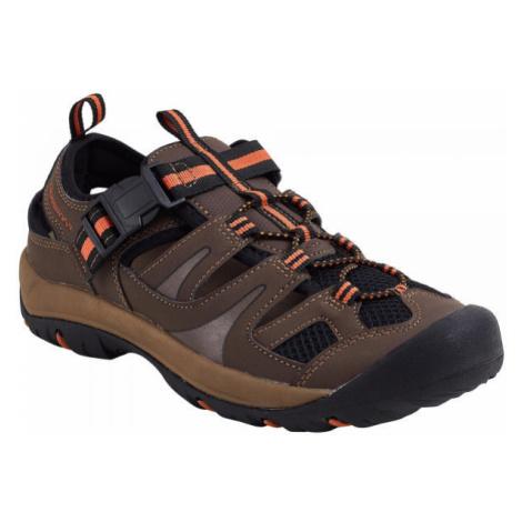 Crossroad MATTI hnědá - Pánské sandály