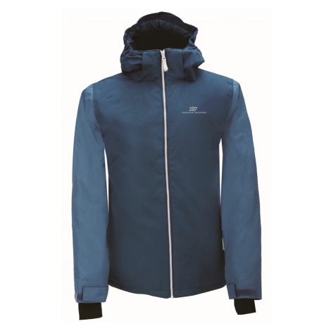 2117 of Sweden TÄLLBERG - ECO pánská lyž. lehce zateplená bunda Barva: nám. modrá