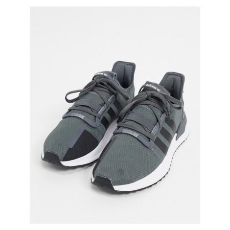 Adidas Originals U_Path run shoes in grey five & core black