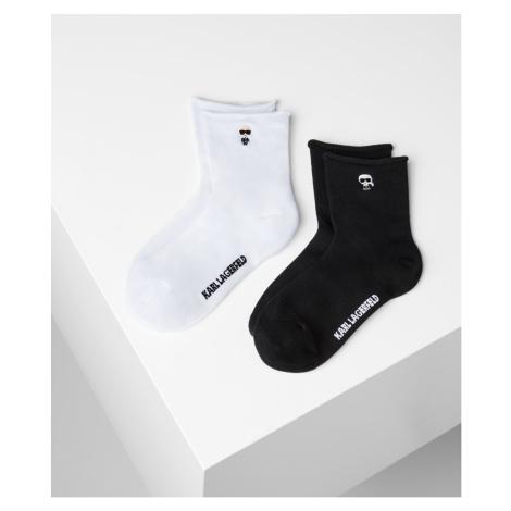 Ponožky Karl Lagerfeld K/Ikonik 2-Pak Set - Různobarevná