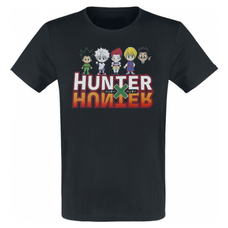 Hunter x Hunter Group tricko černá