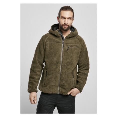 Brandit Teddyfleece Worker Jacket olive