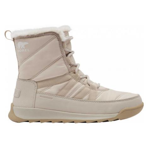 Sorel WHITNEY II SHORT LACE FU šedá - Dámská zimní obuv