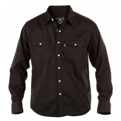 DUKE košile džínová pánská Western Style Denim nadměrná velikost