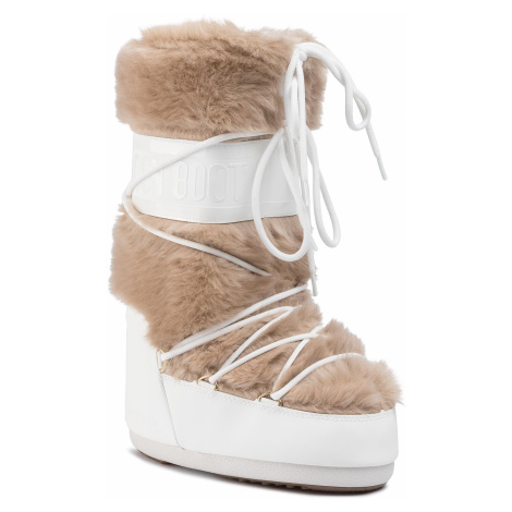 Sněhule MOON BOOT - Classic Faux Fur 140890002 White