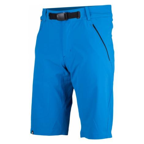 NORTHFINDER DEACON Pánské outdoorové šortky BE-3224OR281 modrá