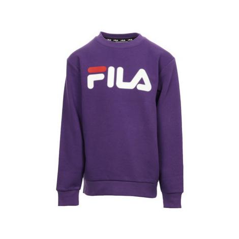 Fila Classic Logo Crew Kids Fialová