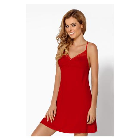 Elegantní košilka Pandora červená Nipplex