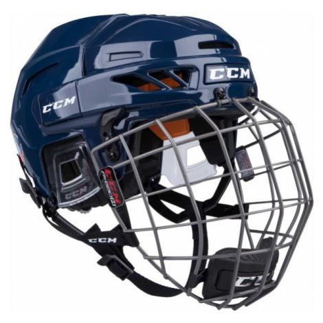 CCM FITLITE 90 COMBO SR modrá - Hokejová helma