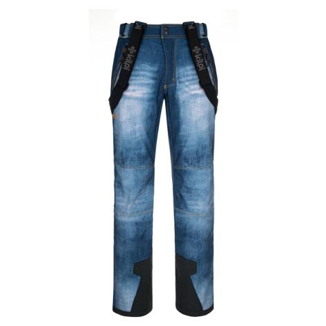 Pánské softshellové kalhoty KILPI JEANSO-M modrá