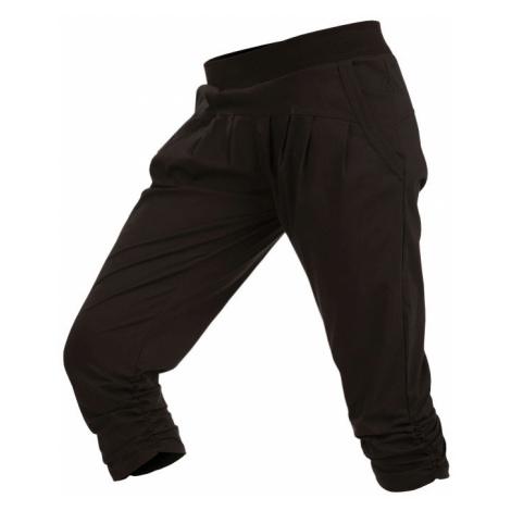 LITEX Kalhoty dámské bokové v 3/4 délce 5A304901 černá