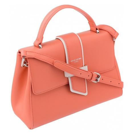 David jones® korálová kabelka s klasickou klopou