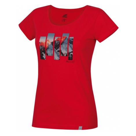 Dámské tričko Hannah Armela rouge red