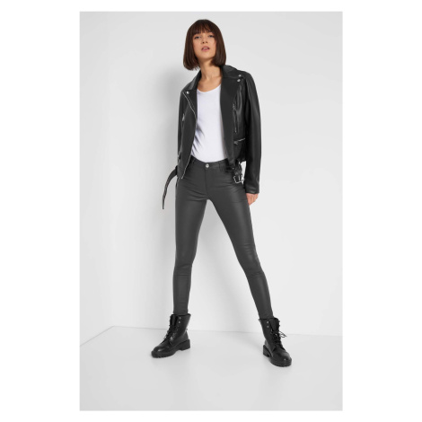 Voskované skinny kalhoty Orsay