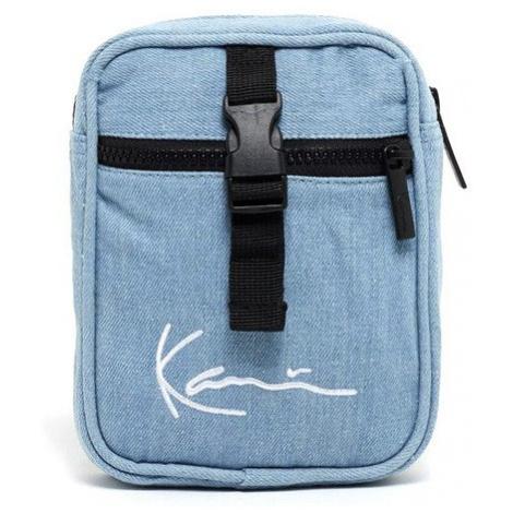 Karl Kani Signature Block Messenger Bag light blue