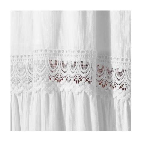 Blancheporte Dlouhé šaty bez rukávů bílá