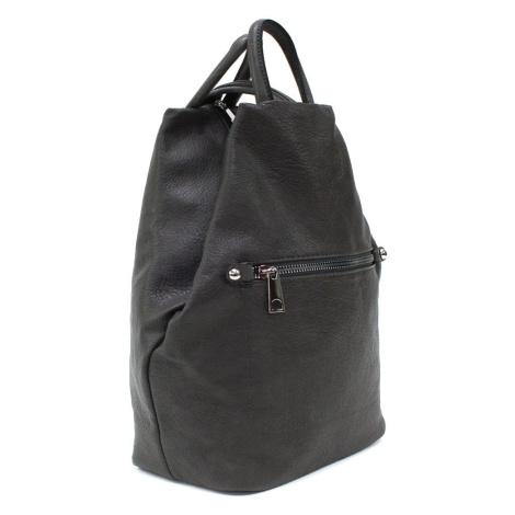 Tmavě šedý moderní dámský batoh Lorayne Tapple
