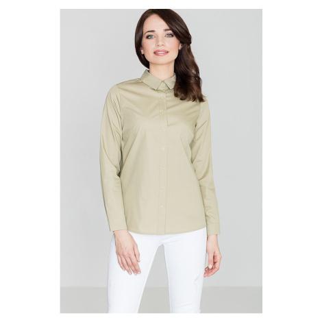 Lenitif Woman's Shirt K384 Olive