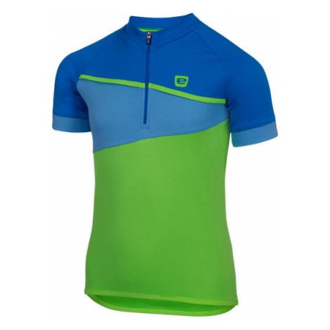 Dětský cyklistický dres Etape Peddy zeleno-modrý