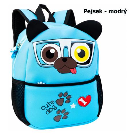 Dětský batoh SPOKEY Pejsek - modrý