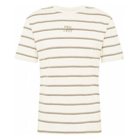 PROTEST Funkční tričko 'Ceasar' bílý melír / zelená / černá / pink / žlutá