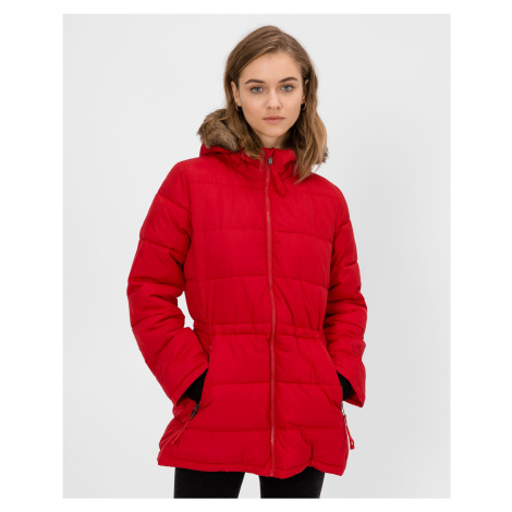GAP červený zimní kabát