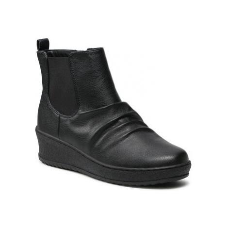 Kotníkové boty Clara Barson WYL1877-4 Imitace kůže/-Ekologická kůže