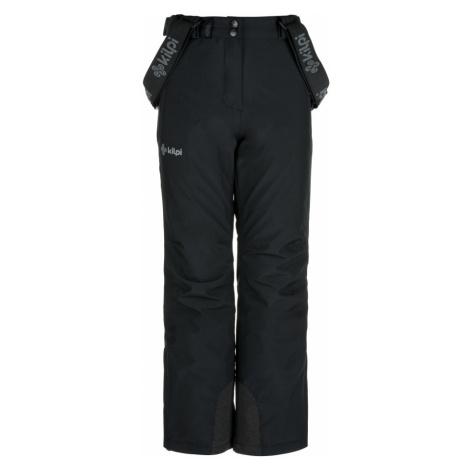 KILPI Dívčí lyžařské kalhoty EUROPA-JG JJ0045KIBLK Černá
