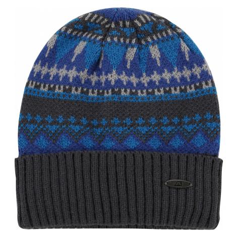 ALPINE PRO LUKENE 2 Unisex zimní čepice UHAP074674 Blue aster