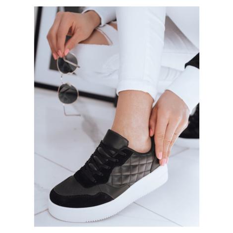 Women's sneakers GIRLY black Dstreet ZY0055