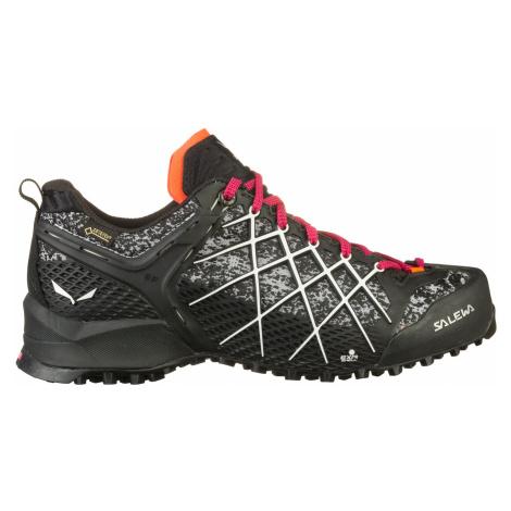 Salewa WILDFIRE GTX, Black/White Dámské boty
