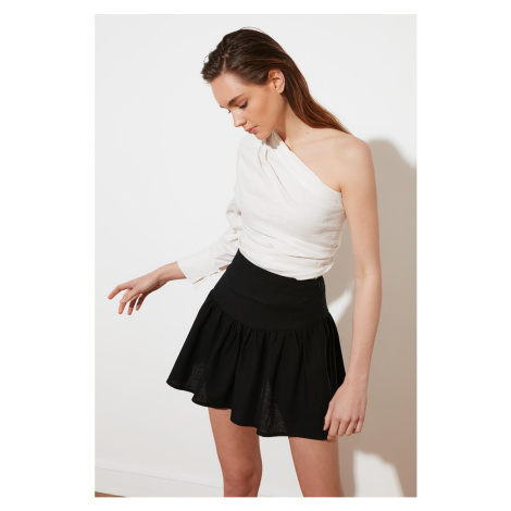 Trendyol Black Flywheel Skirt