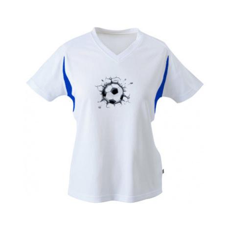 Funkční tričko dámské Fotbalový míč