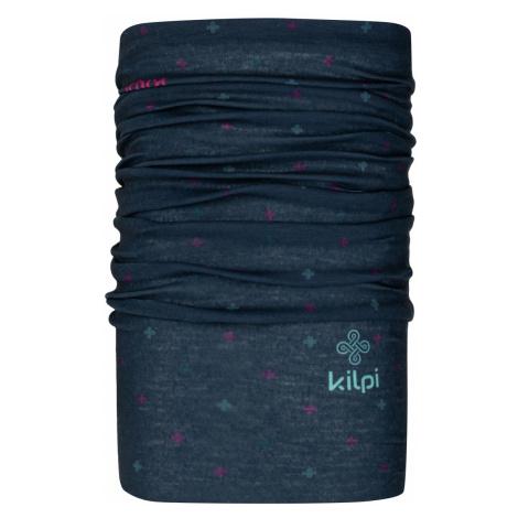 Unisex multifuknčí šátek/nákrčník KILPI DARLIN tmavě modrá