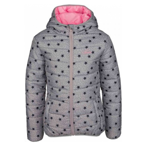 Lewro LIBERTAD šedá - Dívčí prošívaná bunda
