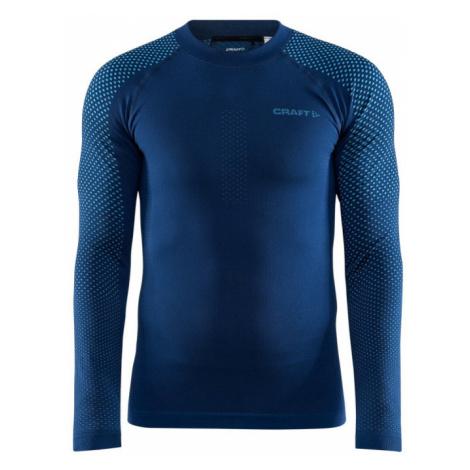 Pánské tričko CRAFT ADV Warm Fuseknit Intensity LS tm. modrá