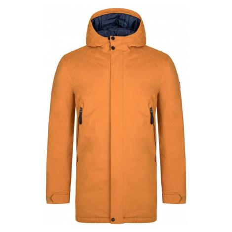 LOAP NAKIO Pánský zimní kabát CLM2049C80M Gl Oak / Blue