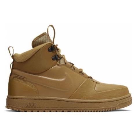 Nike PATH WNTR hnědá - Pánská zimní obuv