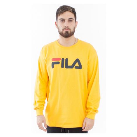 Žluté tričko Classic Pure long sleeve shirt Fila